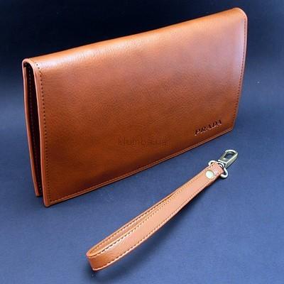 a6081e664063 Клатч кожаный мужской Prada-5289-2: 850 грн - портмоне, кошельки ...