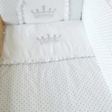комплект постельного белья набор постельный в кроватку детское постельное белье для новорожденного