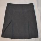 Школьная юбка 10-11 лет серого цвета.