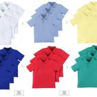 Белые, голубые, жёлтые, синие и зелёные футболочки поло Англия