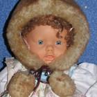 Детская зимняя шапка.