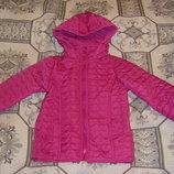 Отпадная деми куртка Тополино в сердечки и Dopodopo 98-116