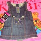 Новое джинсовое платье для малышки. Произ-Во Турция
