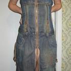 Сарафан джинсовый стильный