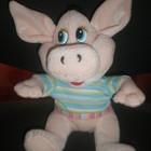 Мягкая игрушка -Свинка в футболке - 50 грн
