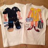 Новые. Прикольные футболки Add a Kid 3-4-5 лет. Сша. Футболка для мальчика и девочки.