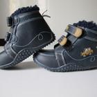 новые утепленные ботинки Betto. разм.22. стелька 13.5см.