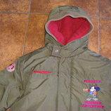 Зимняя куртка Дисней на 6-7 лет, рост 116-128