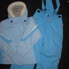 зимний термо комбинезон, куртка и штаны, на 104 роста, девочке