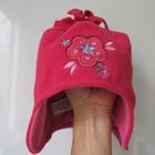 демисезонная двойная шапочка M&Co baby на 0-6мес