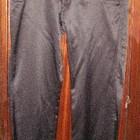 Дешево продам женские черные брюки плотный атлас