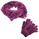 JENIFER ANDERTON Англия Шикарный комплект шарф перчатки Цену снизила