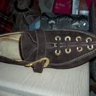 Туфли 40-41 размер Италия натуральная замша