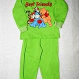 Пижамы, домашние комплекты для малышей 1-2 года, хлопок, отличное качество