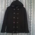 Продам cтильное деми вязаное пальто для девочки, размер 152,158 164