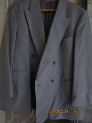 пиджак вклетку р 60