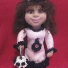 Кукла Каролина. Ручная работа.