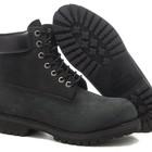 Ботинки Classic Timberland 6 inch Black Boots - черные