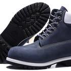 Ботинки Classic Timberland 6 inch Blue White Boots