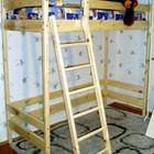 Двухъярусная кровать-чердак высота - 187см