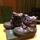 Зимние фиолетовые сапоги GEOX, 23 размер, 15,4 см стелька