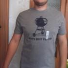 футболка серая Old Navy