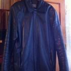 Мужская куртка кожа