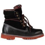 Женские ботинки Classic Timberland Bandits Black