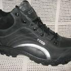 Зимние ботинки типа ессо натур.кожа набив.мех р.40-45 модель 110
