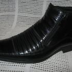 Зимние ботинки натур. кожа натур. мех CARLO DELARI оригинал р.39