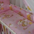 Наборы постельного белья для новорожденного из 8 ед. -Мишки на луне