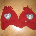фирменные шапки флис зима 1-3 года Disney