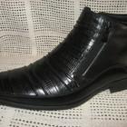 Зимние ботинки натур. кожа натур. мех CARLO DELARI оригинал р.40 мод.КZ70