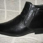 Зимние ботинки натур. кожа натур. мех BROOMAN оригинал р.40, 41, мод.07ПС