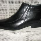Зимние ботинки натур. кожа натур. мех ALBERTO GOARDIANI р.40 мод.8624