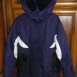 Теплая демисезонная куртка Alive на девочку рост 128-140 см и 146