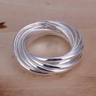 Кольцо, покрытие серебро 925 пробы.