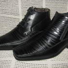 Зимние ботинки подросток натур. кожа натур. набив.мех TRIUMF р.36-40 мод.036