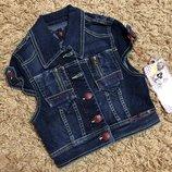 Lois р.S-XS оригинал Испания Жакет жилетка джинсовая очень стильная и крутая
