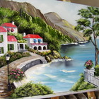 Картина маслом Красивий берег 40х60