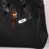 Элитная сумка Hermes Birkin 35 см черный цвет в наличии