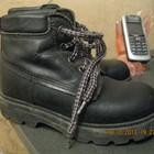 Кожаные ботинки мальчиковые