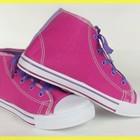 Спортивные кеды ЯРКО-Розовые и светло-розовые высокие -