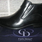 Зимние модельные ботинки натур. кожа натур. мех CARLO DELARI р.39-45 мод.336М