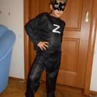 Новогодний карнавальный костюм Зорро рост 116-126 см