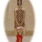 Дора-Танцовщица.текстильная кукла, ручной работы, handmade.