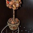 Топиарий. Осеннее золотое дерево счастья