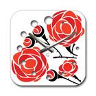 Часы Настенные Современные Rose