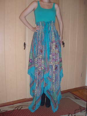 цена снижена юбка парео сарафан туника платье все в одном шифоновый мята
