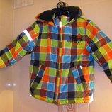 Куртки Тополино р.116, теплая осенне-зимняя куртка 104-110 недорого